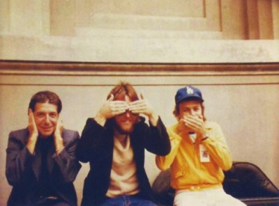 Leonard Cohen, Mitch Watkins and Roscoe Beck
