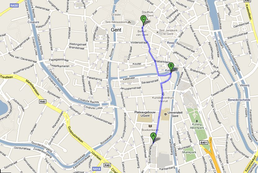 Map of Ghent for meetups and concert.JPG